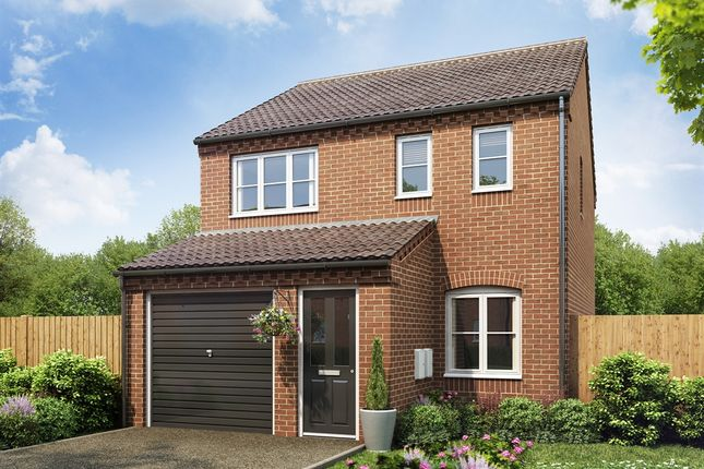 "Thumbnail Semi-detached house for sale in ""The Rufford"" at Lincoln Road, Holdingham, Sleaford"