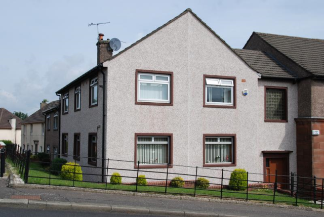 Thumbnail Flat to rent in Bawhirley Road, Greenock Unfurnished
