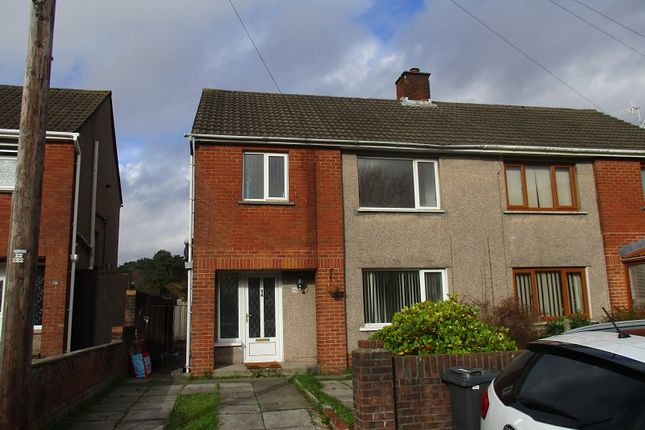 Thumbnail Semi-detached house to rent in Elmwood Road, Baglan, Port Talbot, Neath Port Talbot.