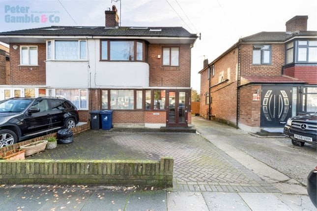 Thumbnail Semi-detached house to rent in Bilton Road, Perivale, Greenford, Greater London