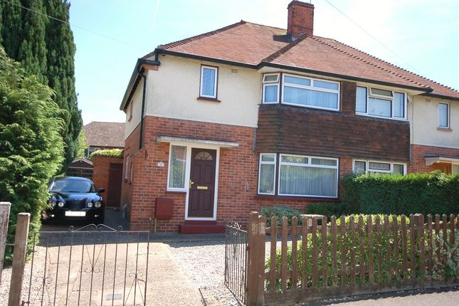 Thumbnail Semi-detached house for sale in Manor Way, Bagshot