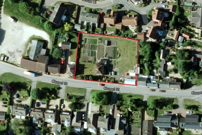 Thumbnail Land for sale in Chapel Street, Warmington, Peterborough