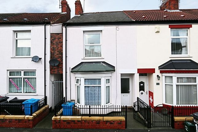 Thumbnail End terrace house for sale in Airlie Street, Hull