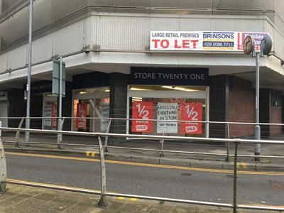 Thumbnail Retail premises to let in Ebbw Vale Shopping Centre, Unit 1, Market Street, Ebbw Vale