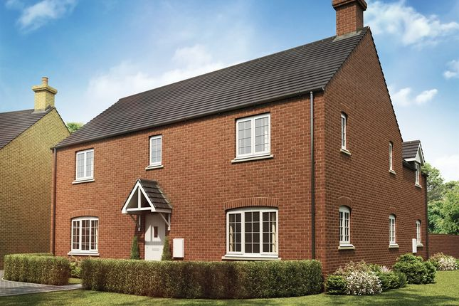 "Thumbnail Detached house for sale in ""The Longleet"" at Whitelands Way, Bicester"