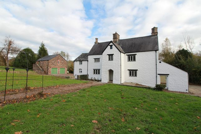 Thumbnail Detached house for sale in Ton Road, Llangybi, Usk