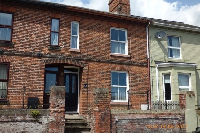 2 bed terraced house to rent in Douglas Place, Ravensmere, Beccles