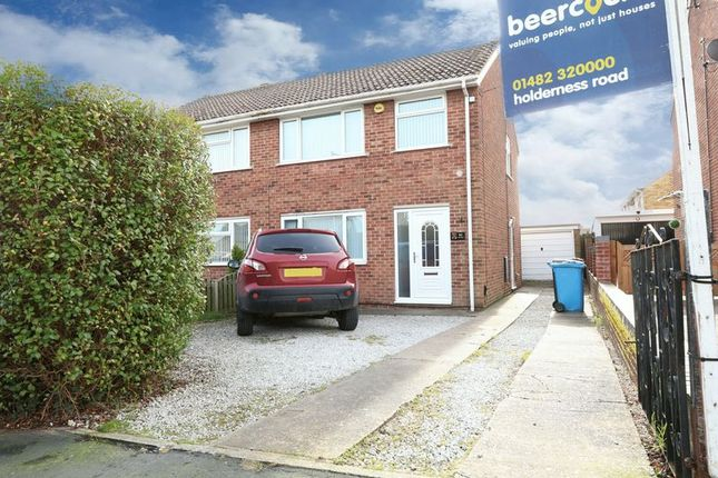 Thumbnail Semi-detached house for sale in Ark Royal, Bilton, Hull