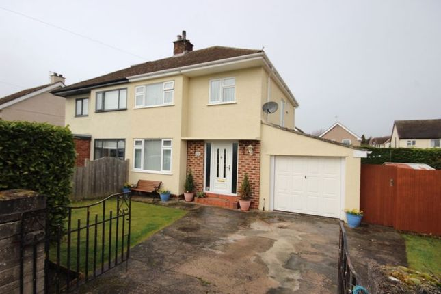 Thumbnail Semi-detached house for sale in Pant Teg, Deganwy, Conwy