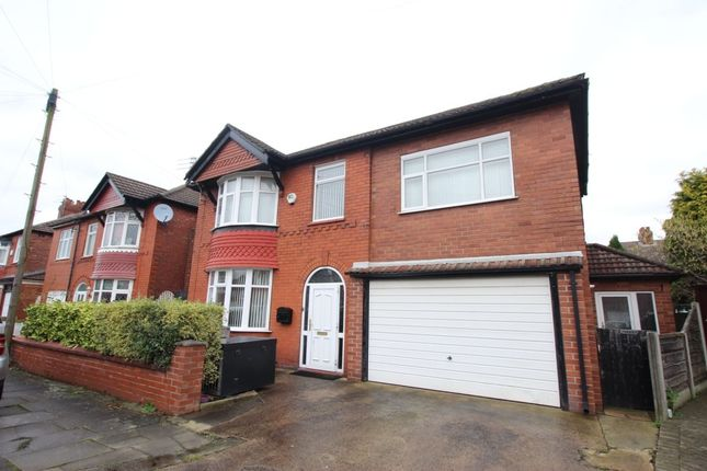 Thumbnail Detached house to rent in Sandringham Avenue, Denton, Manchester