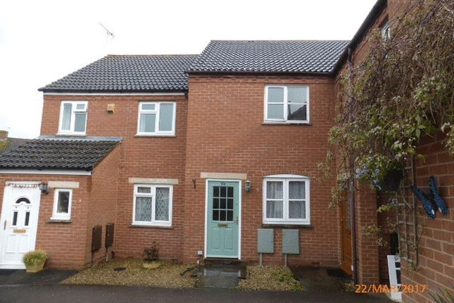 Thumbnail Terraced house to rent in Snowshill Drive, Bishops Cleeve, Cheltenham