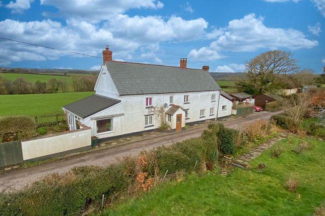 Thumbnail Detached house for sale in Bradford, Devon