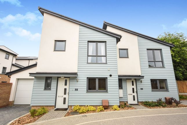 Thumbnail Semi-detached house for sale in Byron View, Chelmsford