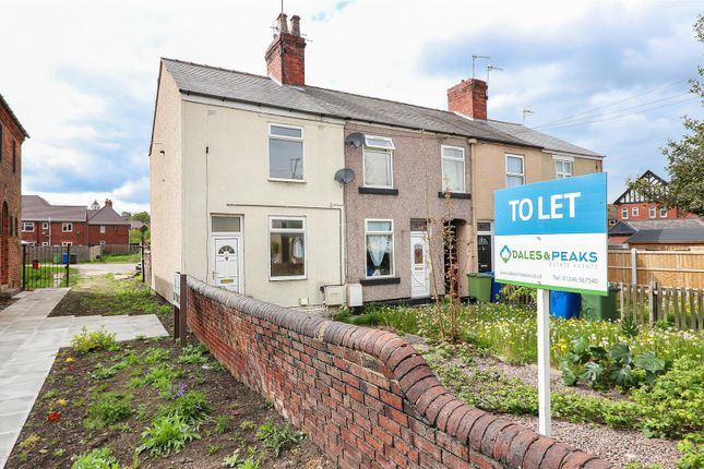 Thumbnail End terrace house to rent in Derby Road, Chesterfield, Derbyshire