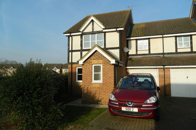 Thumbnail End terrace house to rent in Two Mile Drive, Cippenham, Berkshire