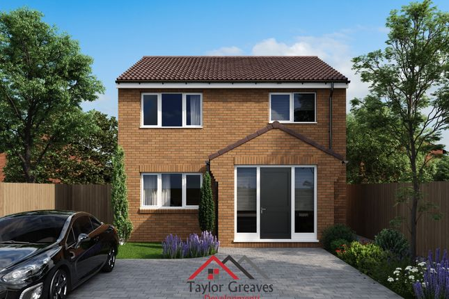 Thumbnail Detached house for sale in White Post Court, Corby