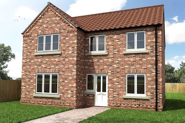 Thumbnail Detached house for sale in North Field Close, Off North Eastern Road, Thorne, Doncaster