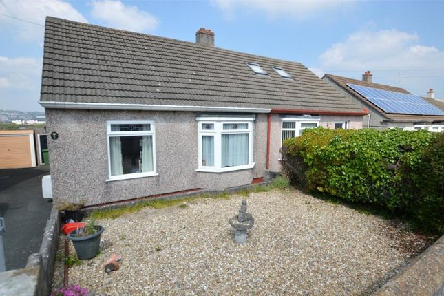 Thumbnail Semi-detached bungalow for sale in Villiers Close, Plymouth, Devon