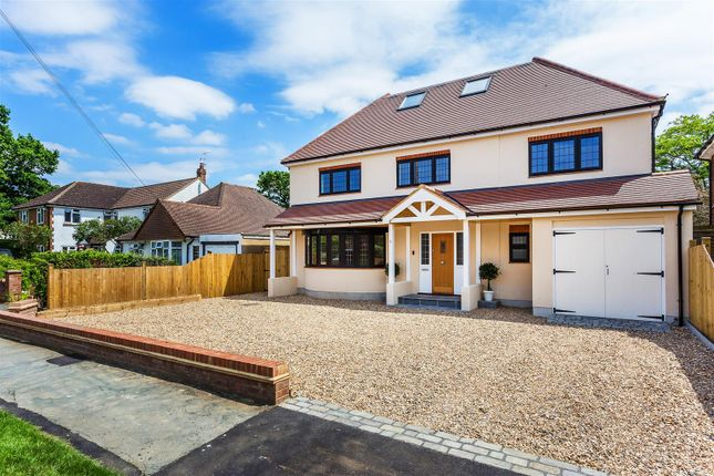 Thumbnail Detached house for sale in Orchard Avenue, Woodham, Addlestone