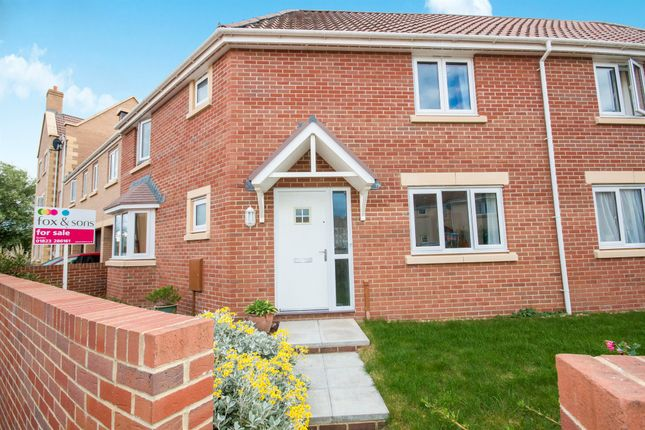 Thumbnail Terraced house for sale in Mill House Road, Norton Fitzwarren, Taunton