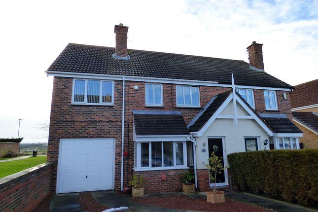 Thumbnail Semi-detached house for sale in Pentland Close, Ashington