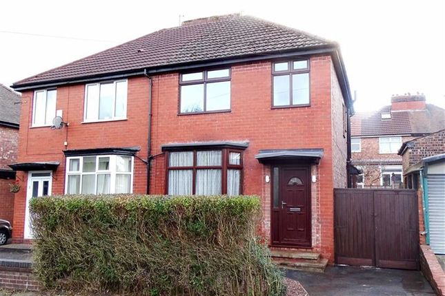 Thumbnail Semi-detached house to rent in Oldfield Road, Prestwich, Prestwich Manchester