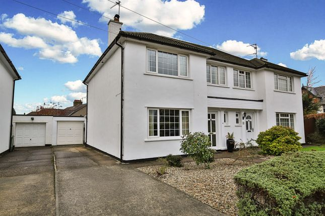 Thumbnail Semi-detached house for sale in Old Vicarage Close, Llanishen, Cardiff