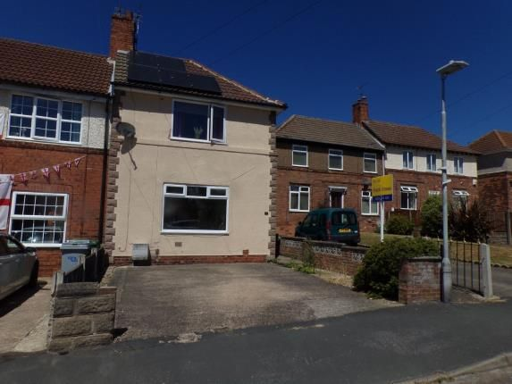 Thumbnail End terrace house for sale in Thorney Abbey Road, Mansfield, Blidworth, Nottinghamshire
