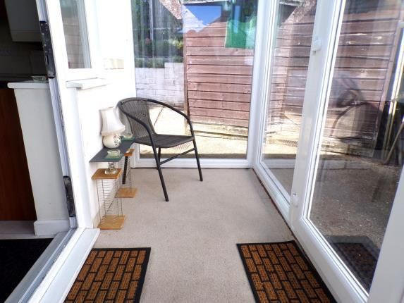 Porch of Connaught Crescent, Parkstone, Poole BH12