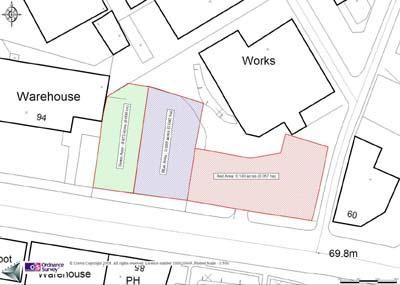 Land to let in Scotland Street Car Parking Spaces, Scotland Street, Sheffield, South Yorkshire