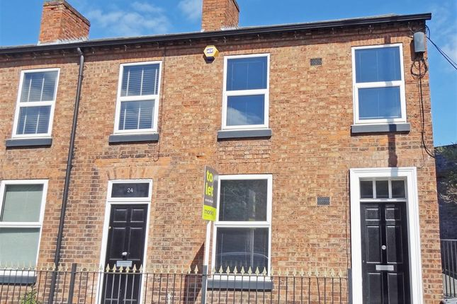 End terrace house to rent in Chester Street, Shrewsbury