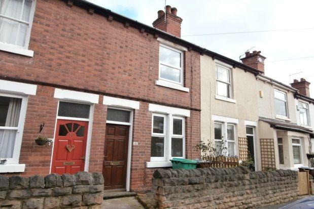 Thumbnail Terraced house to rent in Haddon Street, Sherwood, Nottingham
