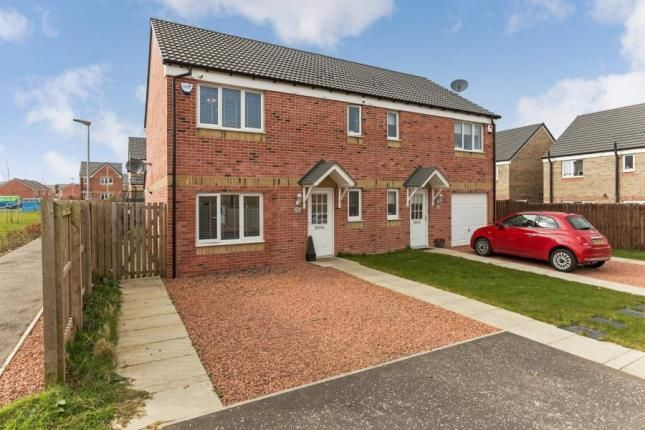 Thumbnail Semi-detached house for sale in Craigswood Way, Baillieston, Glasgow, Lanarkshire