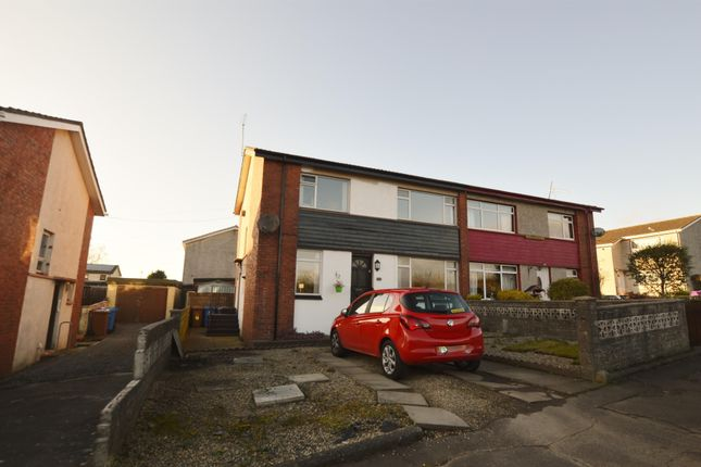 Thumbnail Semi-detached house for sale in 18 Mulgrew Avenue, Saltcoats
