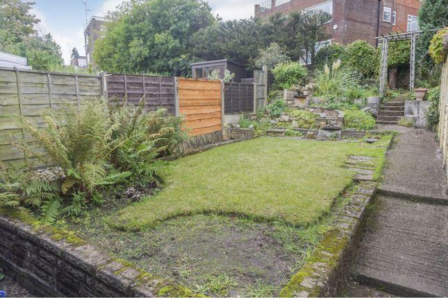 Rear Garden of Park Lane, Whitefield, Manchester M45