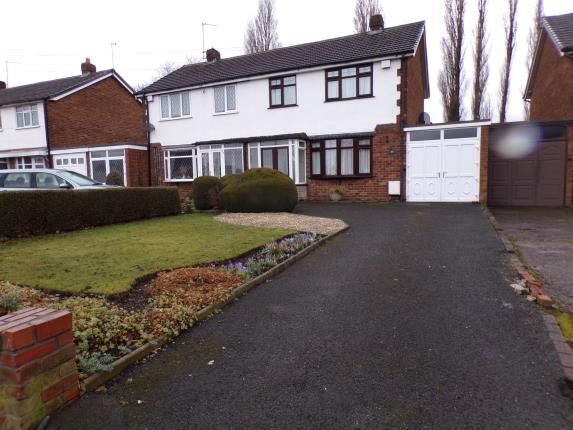 Thumbnail Semi-detached house for sale in Bentley Lane, Short Heath, Willenhall, West Midlands