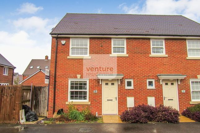 Thumbnail Semi-detached house for sale in Ladybird Way, Wixams, Bedford