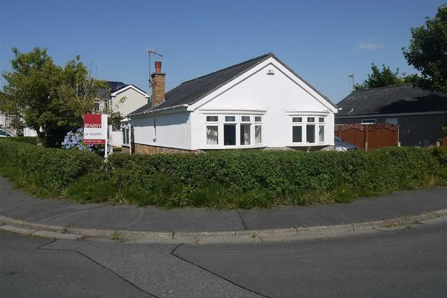 Thumbnail Detached bungalow for sale in Maes Gerddi, Porthmadog, Gwynedd