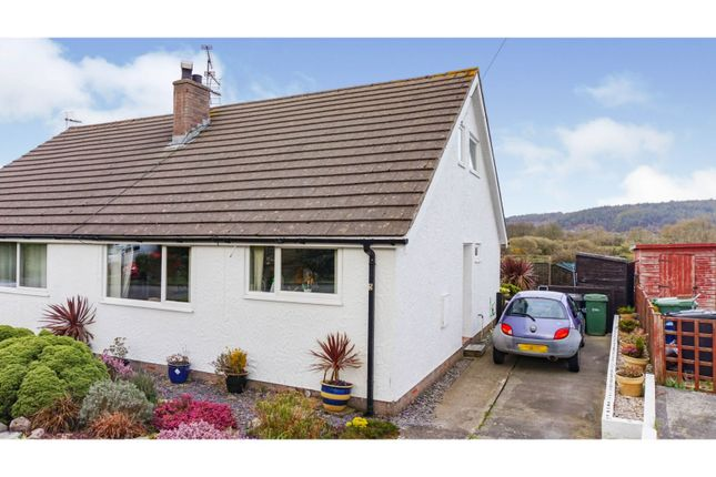 Thumbnail Semi-detached bungalow for sale in Lon Lwyd Isaf, Pentraeth