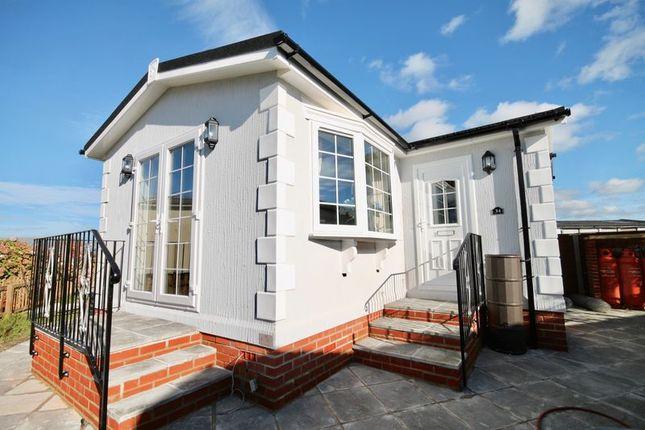 Thumbnail Mobile Park Home For Sale In Swanbridge Homes Dorchester