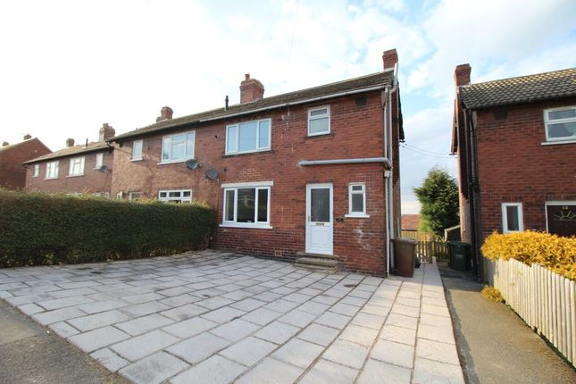 2 bed semi-detached house for sale in Ridge Crescent, Middlestown, Wakefield
