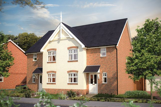 "Thumbnail Semi-detached house for sale in ""The Rye"" at Park Road, Hellingly, Hailsham"