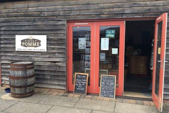 Thumbnail Retail premises for sale in T/A Tiddly Pomme, Faversham ME13 8Xz