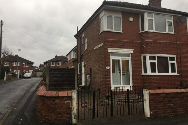 Thumbnail Semi-detached house to rent in Sunnybank Road, Droylsden, Manchester