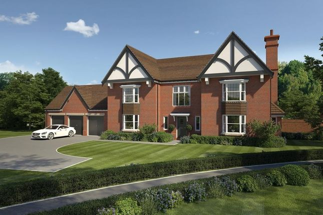 "Thumbnail Detached house for sale in ""Bentley House"" at Wedgwood Drive, Barlaston, Stoke-On-Trent"