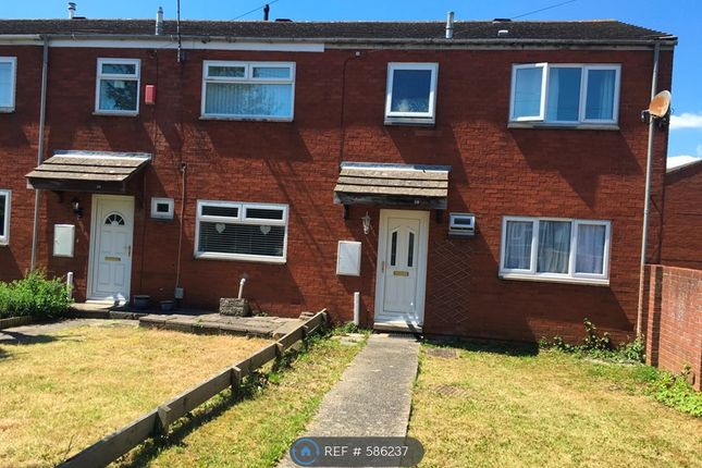 Thumbnail End terrace house to rent in Claude Road, Barry
