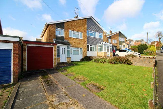Thumbnail Semi-detached house for sale in Beaumaris Close, Tonteg, Pontypridd