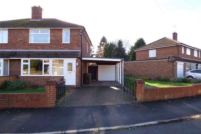 Thumbnail Semi-detached house for sale in St. Davids Close, Farnborough