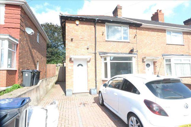 3 bed end terrace house to rent in Hornsey Road, Kingstanding, Birmingham B44