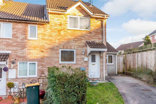Thumbnail End terrace house for sale in Mill Heath, Newport, Newport